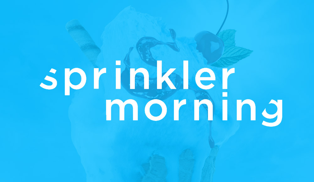 Grafický designer pro Sprinkler Morning